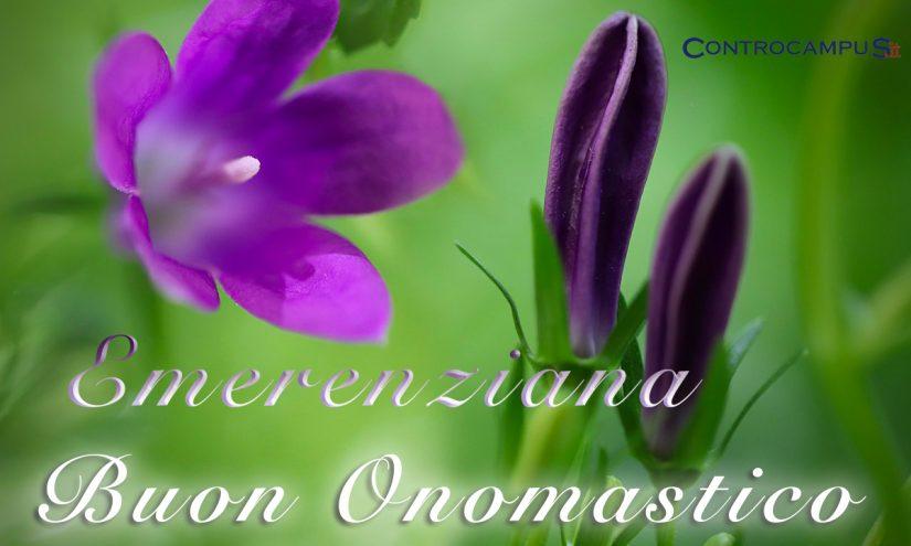Immagini auguri onomastico Sant Emerenziana