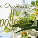 Immagini auguri buon onomastico Apollonia