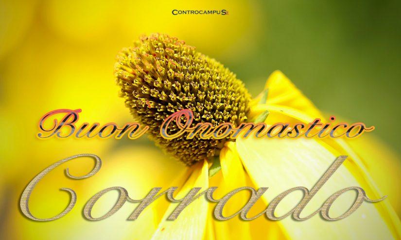 Immagini auguri buon onomastico per San Corrado