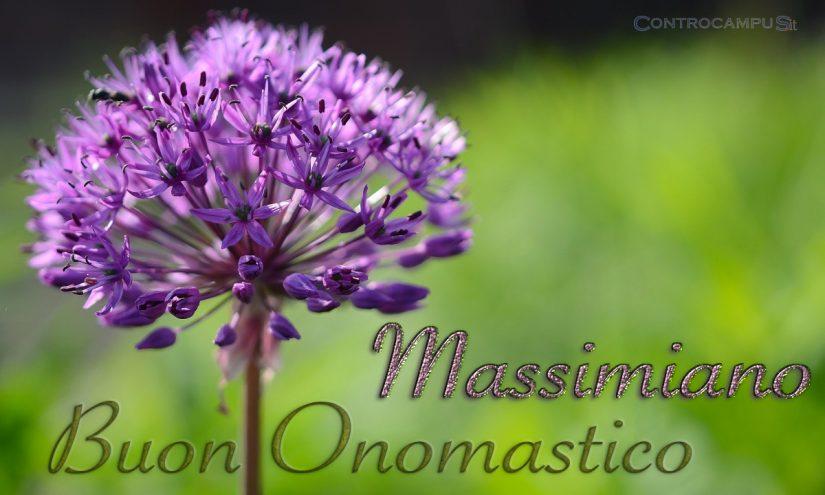 Immagini auguri onomastico per San Massimiano