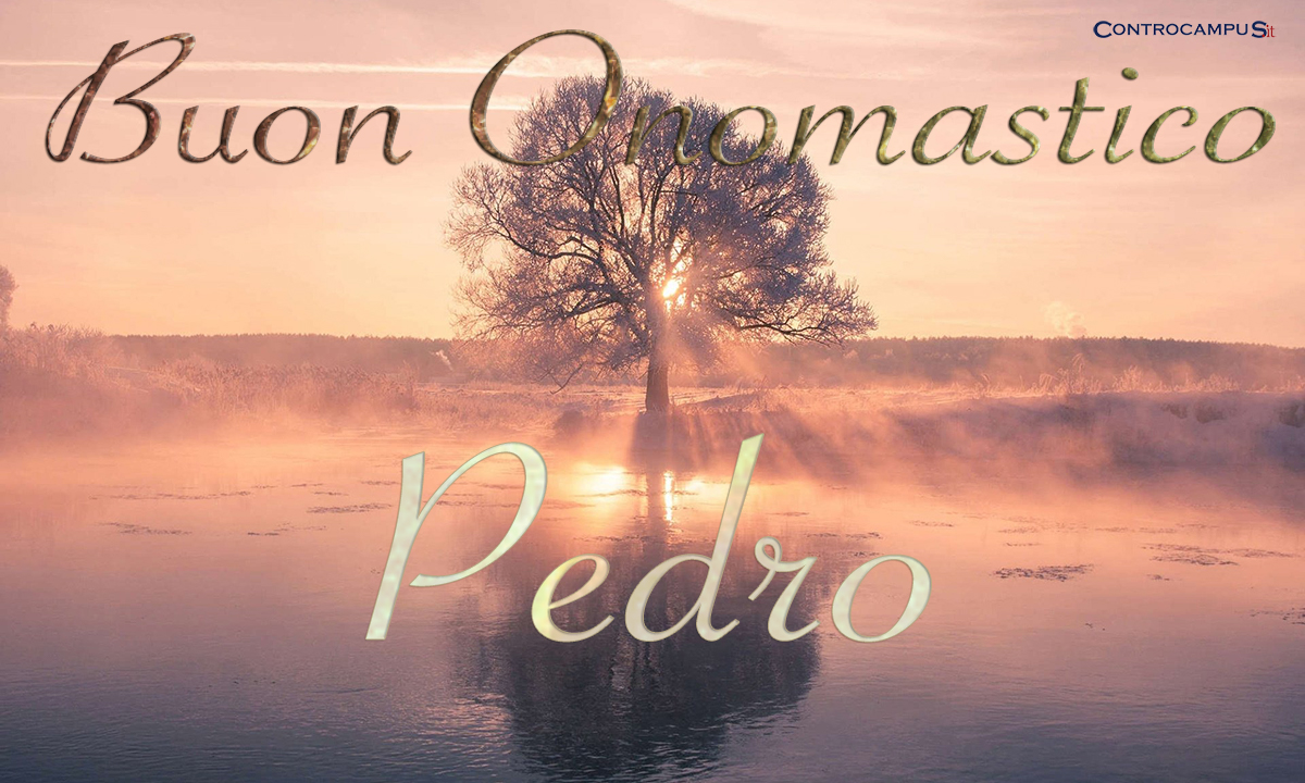 Immagini auguri buon onomastico per San Pedro