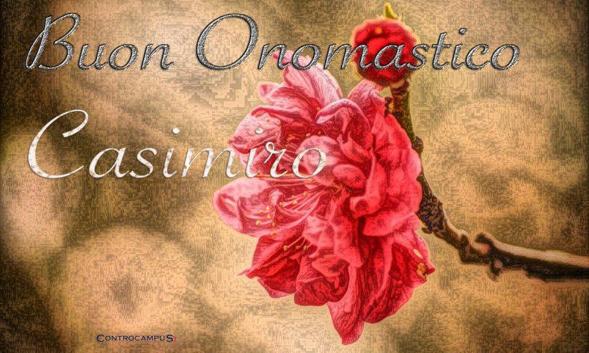 Immagini auguri buon onomastico Casimiro