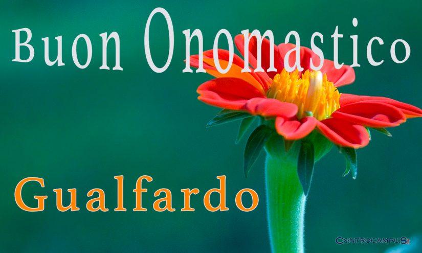 Immagini auguri onomastico per San Gualfardo