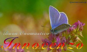 Immagini auguri onomastico per Sant Innocenzo