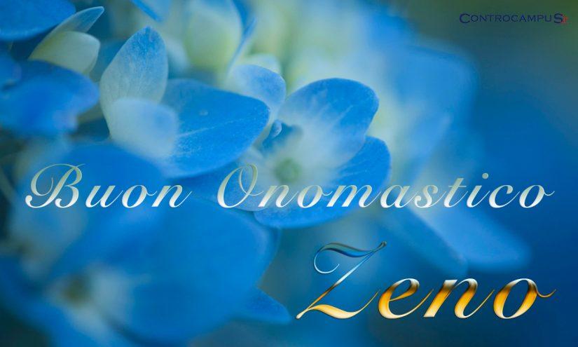 Immagini auguri buon onomastico per San Zeno