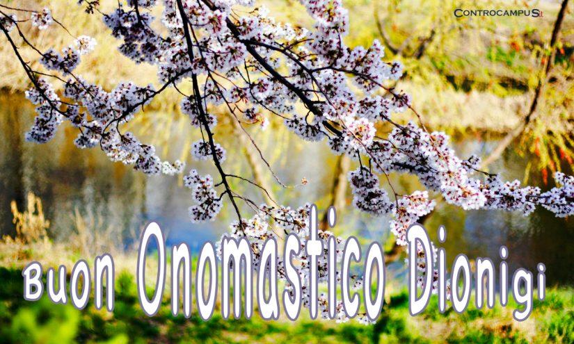 Immagini auguri buon onomastico per San Dionigi