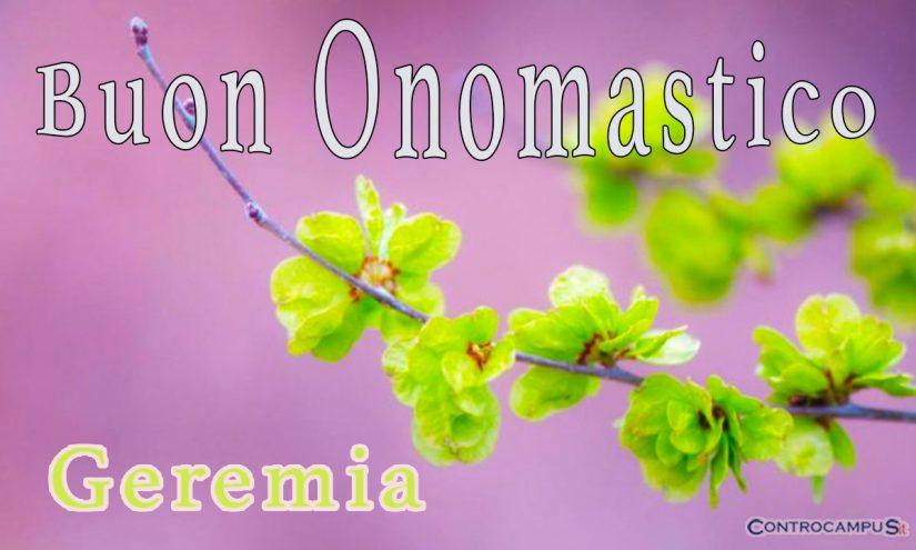 Immagini Auguri Buon Onomastico per San Geremia