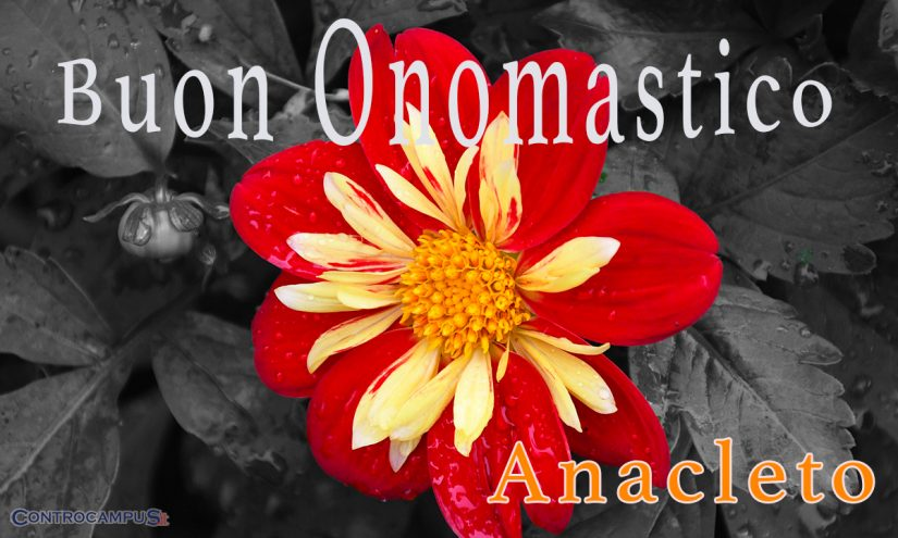Immagini auguri buon onomastico per Sant Anacleto