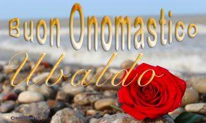 Immagini auguri buon onomastico per Sant Ubaldo