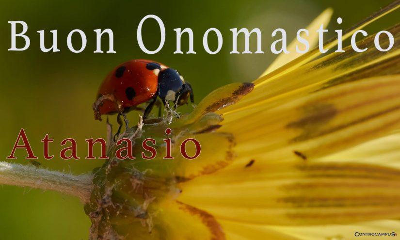 Immagini auguri buon onomastico per Sant Atanasio