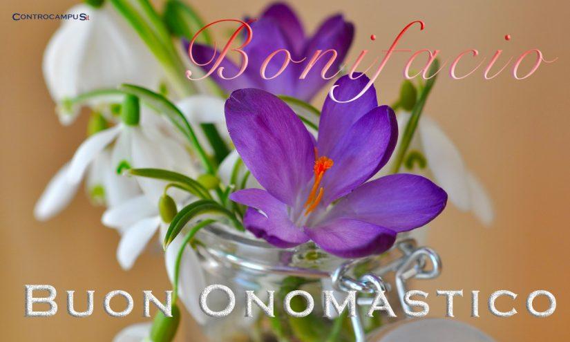 Immagini auguri buon onomastico per San Bonifacio