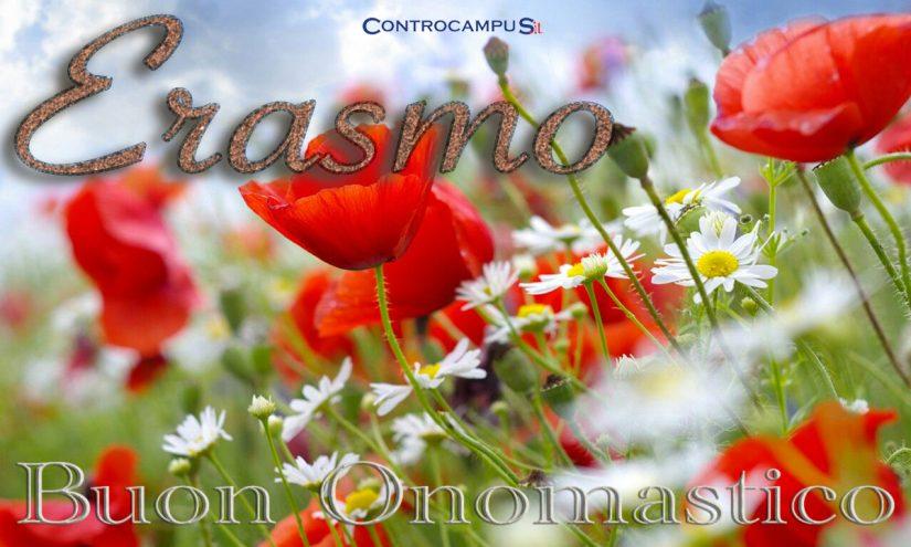 Immagini auguri buon onomastico per San Erasmo