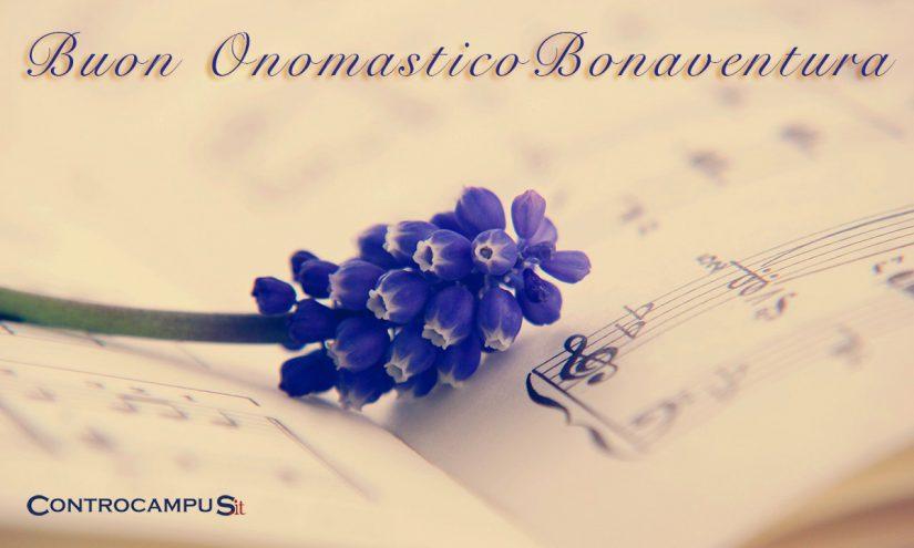 Immagini auguri onomastico San Bonaventura
