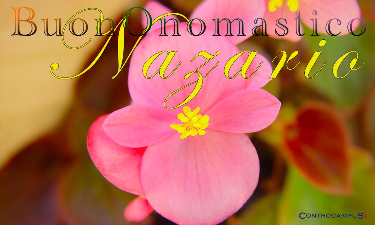 Immagini auguri buon onomastico per San Nazario