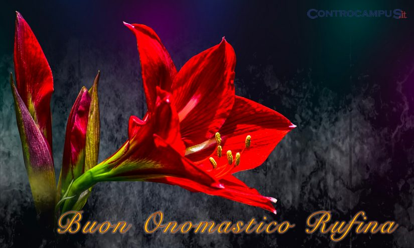 Immagini auguri onomastico Santa Rufina