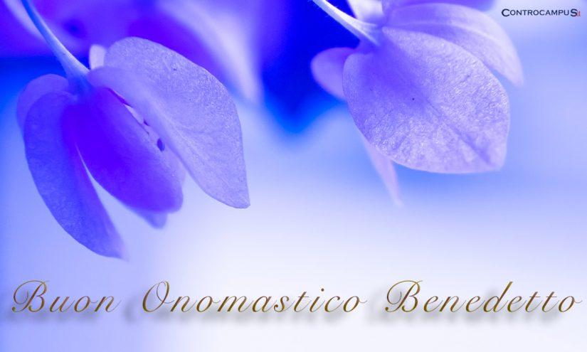 Immagini buon onomastico San Benedetto