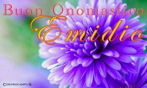 Immagini auguri buon onomastico per Sant Emidio