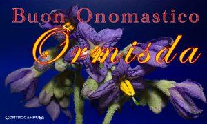 Immagini auguri buon onomastico per Sant Ormisda