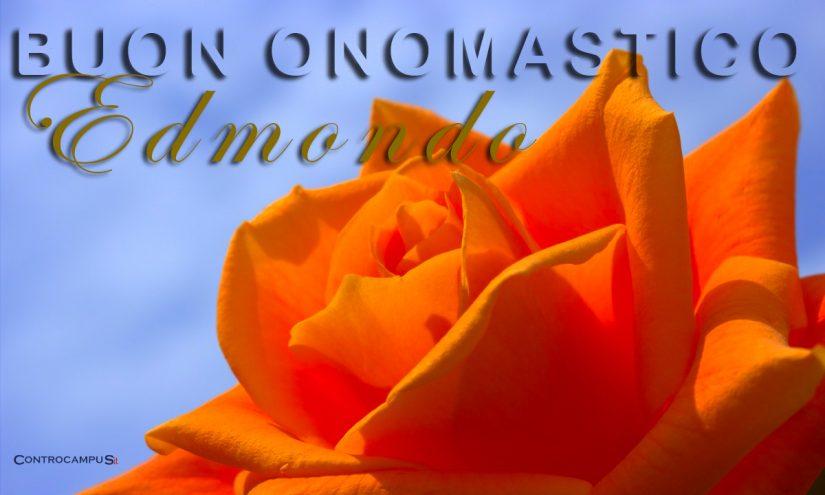 Immagini auguri buon onomastico per Sant Edmondo
