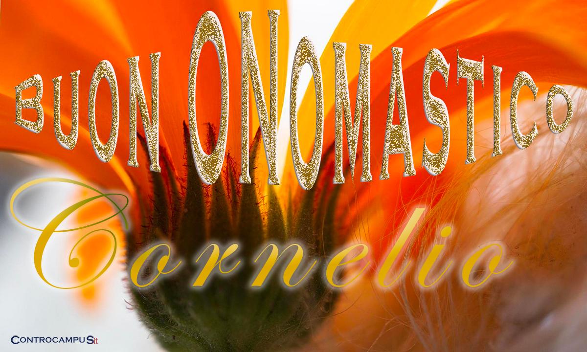 Immagini auguri buon onomastico per San Cornelio
