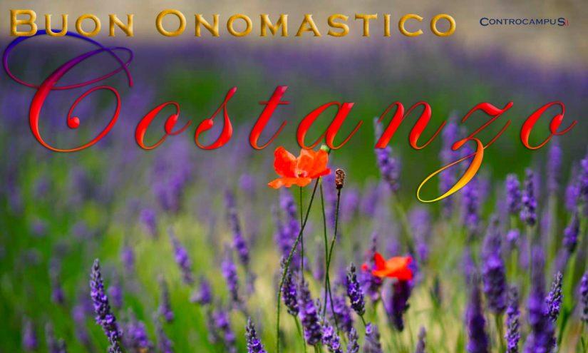 Immagini auguri onomastico San Costanzo
