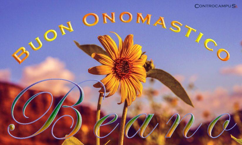 Immagini auguri buon onomastico per San Beano