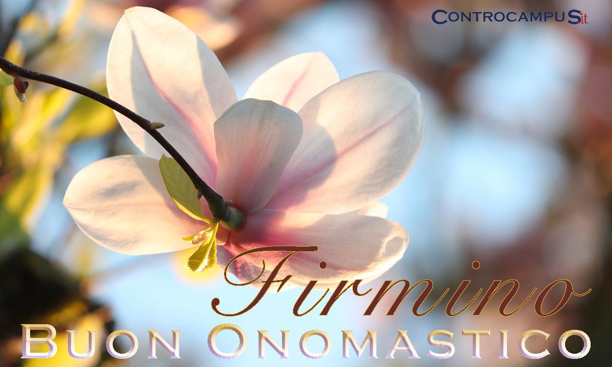Immagini auguri buon onomastico per San Firmino
