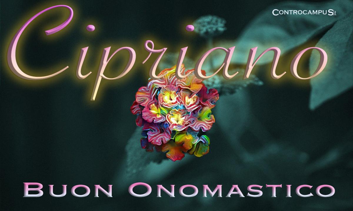 Immagini auguri onomastico San Cipriano
