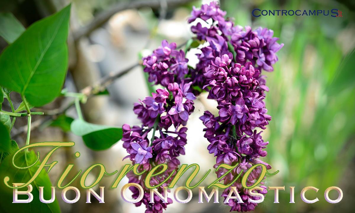 Immagini auguri onomastico San Fiorenzo
