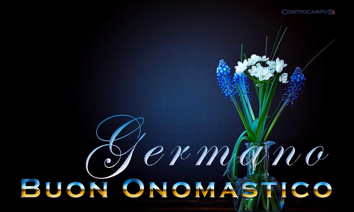 Immagini auguri buon onomastico per San Germano