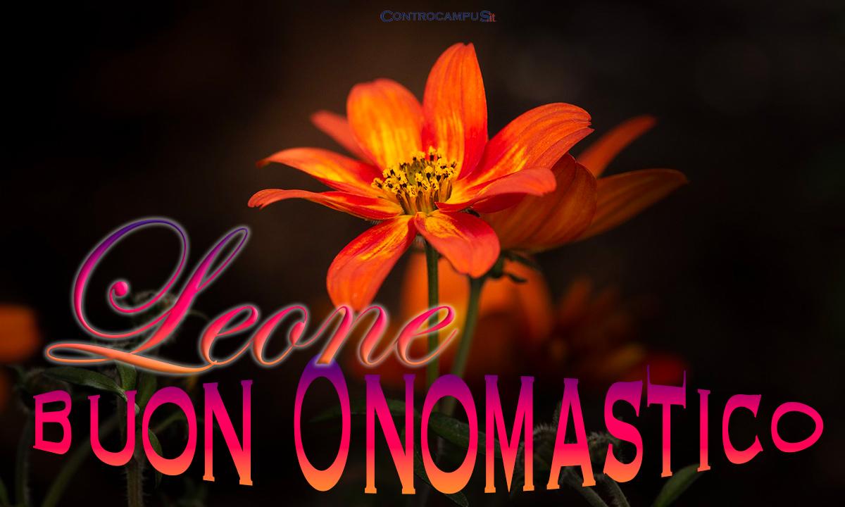 Immagini auguri buon onomastico per San Leone