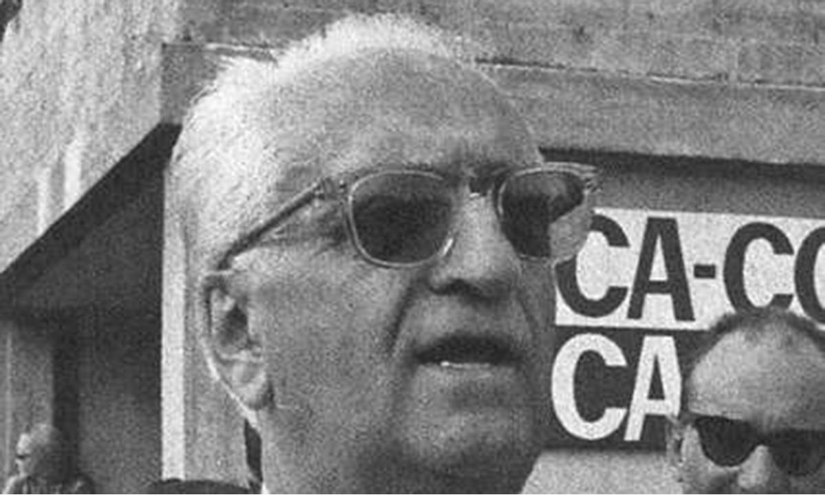 Foto per capire chi era Enzo Ferrari