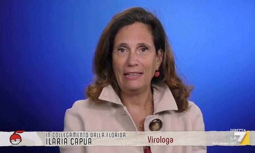 Foto per capire chi è Ilaria Capua