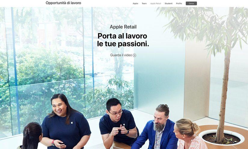 Come lavorare per Apple