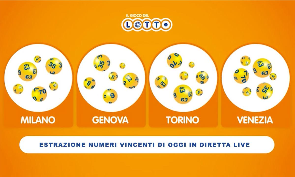 Estrazione del Lotto di oggi 29 agosto 2020