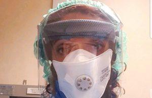 Infermiera oggi con il Coronavirus