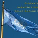 Immagini Giornata del servizio pubblico delle Nazioni Unite