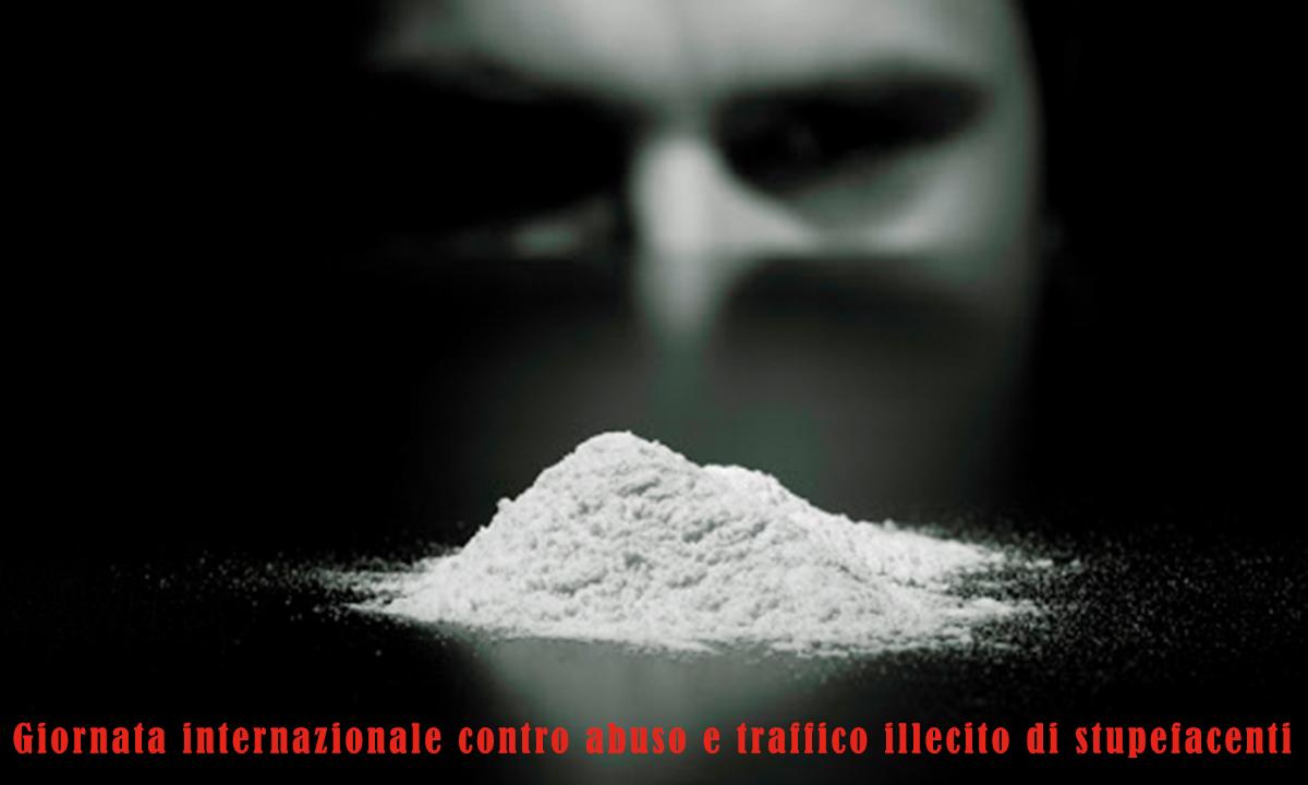 Immagini Giornata internazionale contro abuso e traffico illecito di stupefacenti