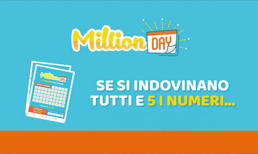Estrazione MillionDAY oggi 24 aprile 2021