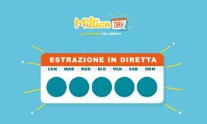 Estrazione MillionDAY di oggi 2 agosto 2021
