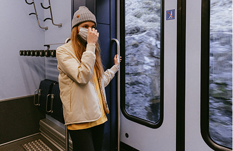 Spostamenti in autobus metro e treni nella fase 3