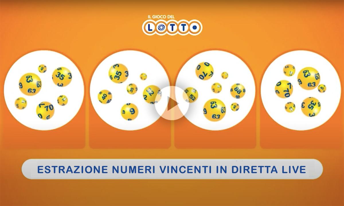 Estrazioni del Lotto del 6 agosto 2020