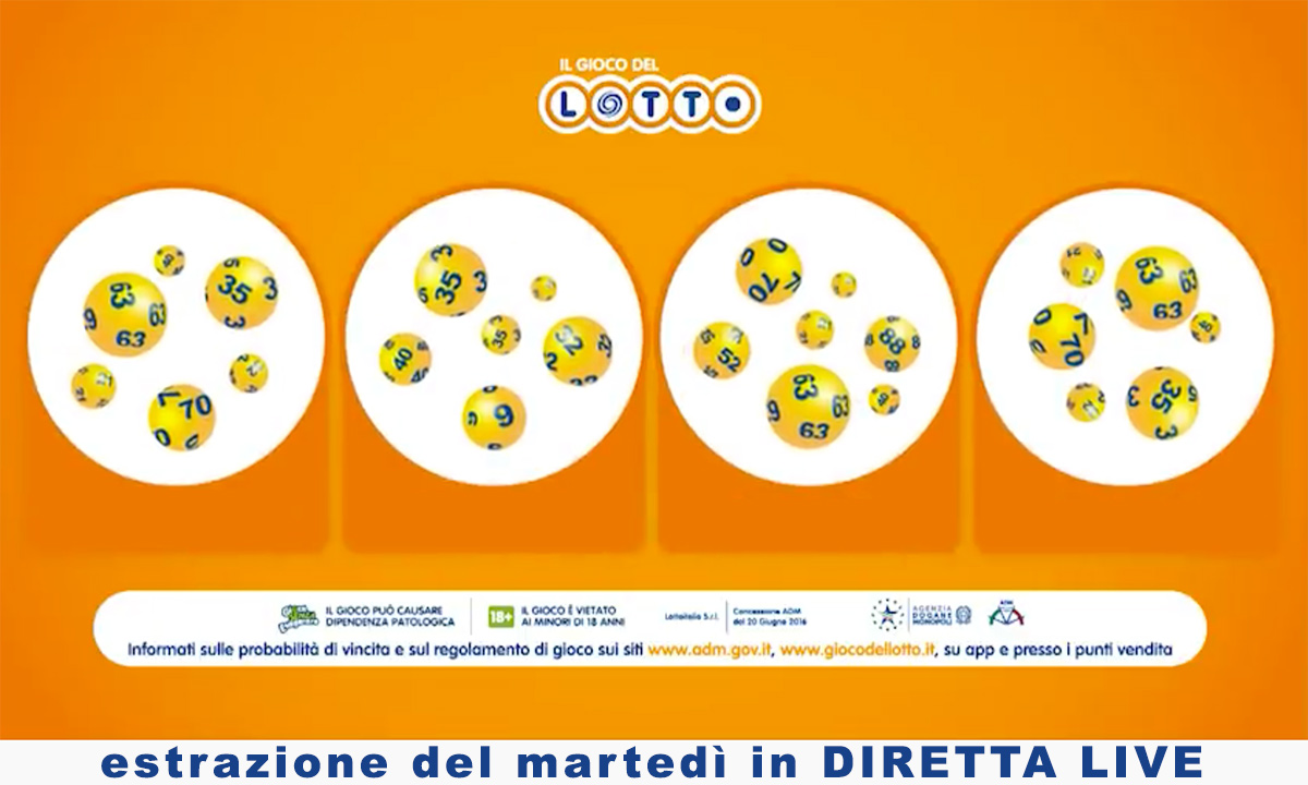 Estrazioni del Lotto 6 marzo 2021