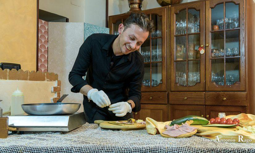 Foto Involtini di zucchine in padella
