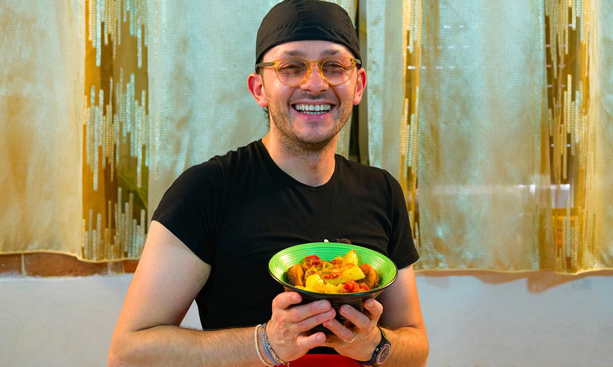 Foto Zuppa di verdure dell'orto
