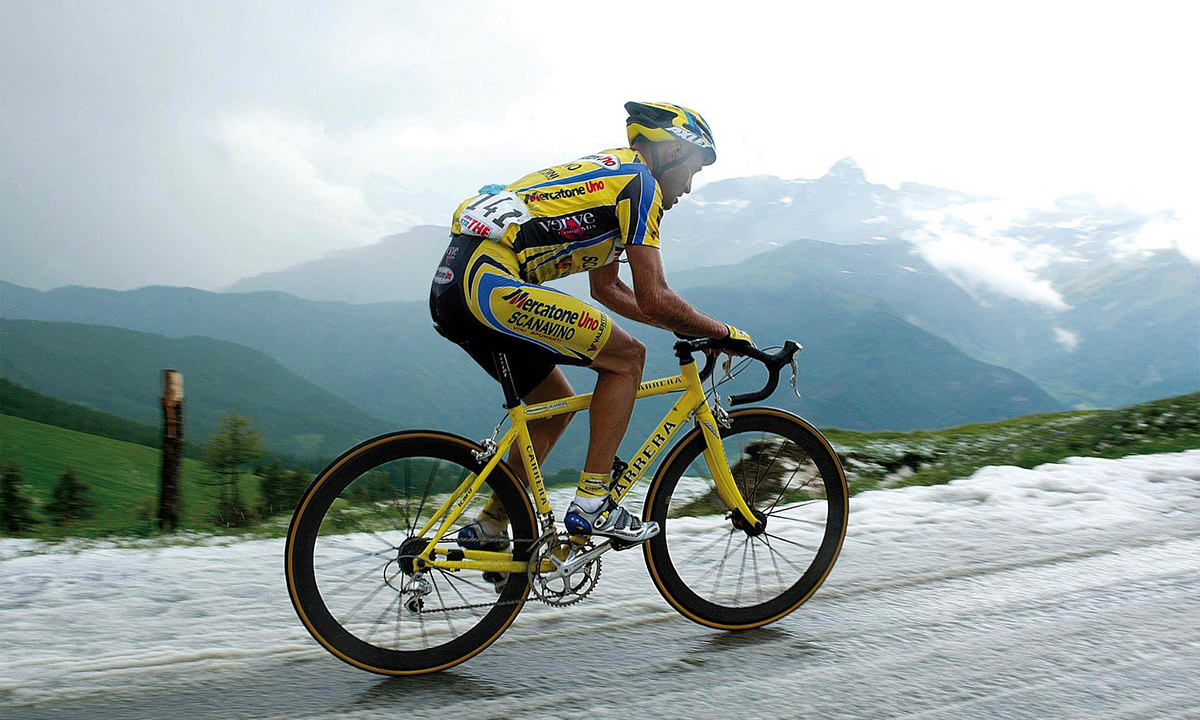 Foto per capire chi era Marco Pantani