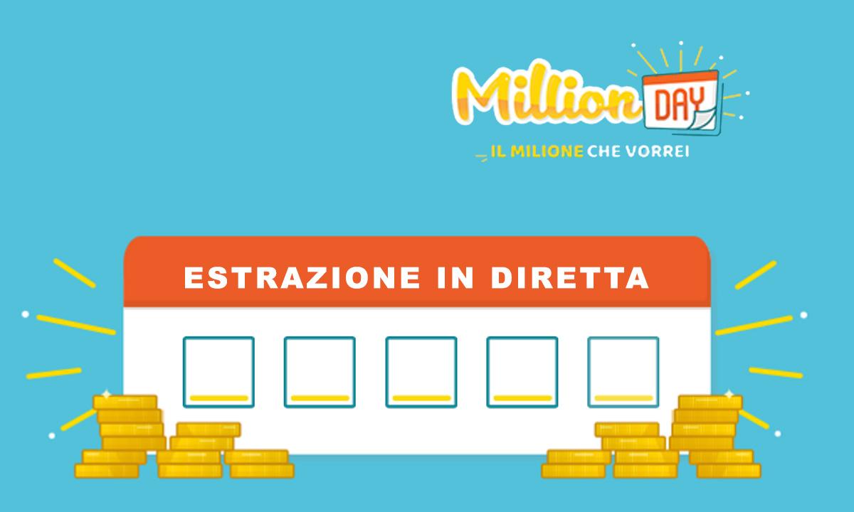 MillionDay del 5 agosto 2020