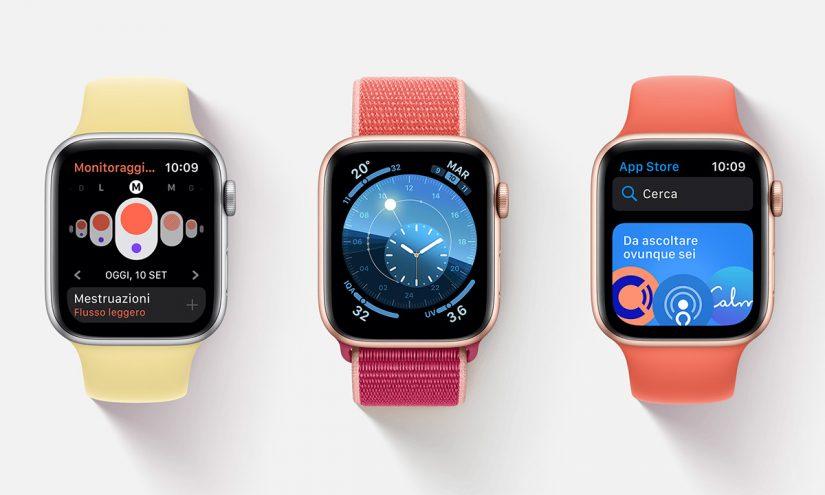 Foto Apple Watch serie 6
