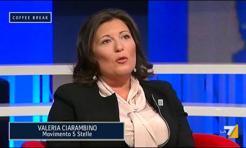 Foto per capire chi è Valeria Ciarambino