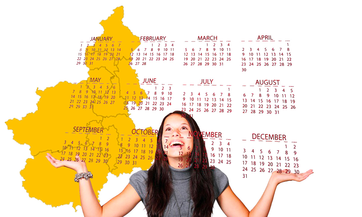 Calendario scolastico 2020 21 Piemonte in PDF: vacanze e festività